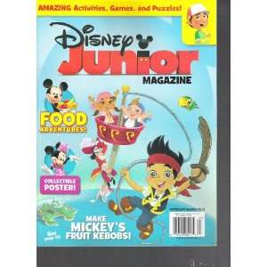 Disney Junior Magazine (February March 2012) Various
