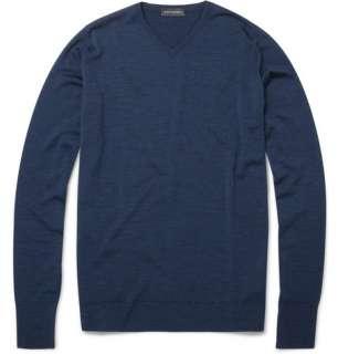Clothing  Knitwear  V necks  Bower Merino Wool V Neck Sweater