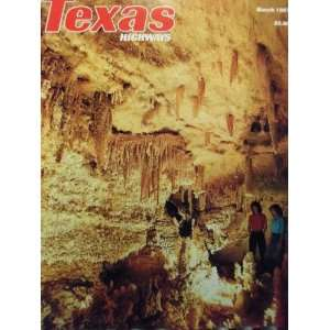 Texas Highways Return To Splender (March, 34) Frank Lively Books