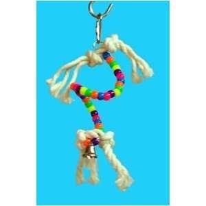 Zoo Max DUS74 Spiral 4in Bird Toy: Pet Supplies