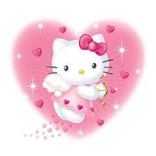 Hello Kitty Schulranzen Set 9 teilig (Kollektion 2011)