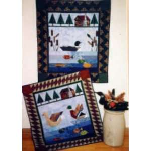 Lake by Pine Tree Lodge Designs, Quilt Pattern Arts, Crafts & Sewing
