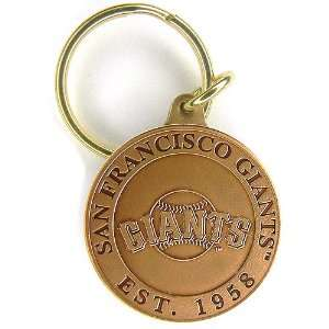 Highland Mint San Francisco Giants Bronze Keychain Sports