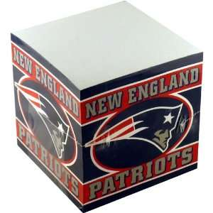 NFL Football Team Logo Paper Note Cube   New England