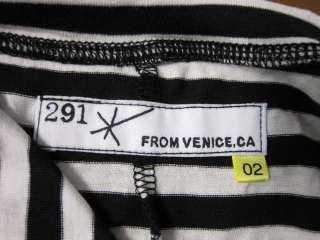 NWOT 291 Venice Striped Pocket Maxi Dress   Size 2