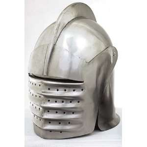 MEDIEVAL MILANESE STYLE HELMET Knight Armor: Everything