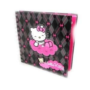 Diary Hello Kitty black pink.