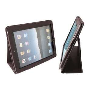 Tech PU Leather Brown Flip Stand Case for Apple iPad 2 Electronics