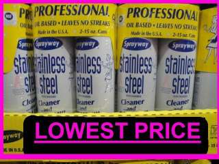 SprayWay Professional Stainless Steel Polish & Cleaner