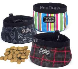 KYJEN Dog Pet COLLAPSIBLE Camping Portable TRAVEL BOWL