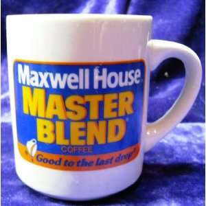 Vintage Maxwell House Coffee Mug