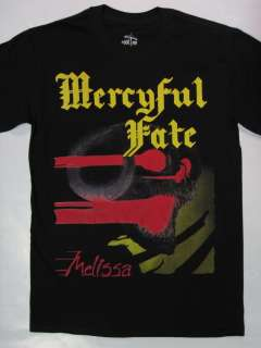 MERCYFUL FATE   MELISSA / KING DIAMOND T SHIRT