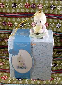 2009 Precious Moments Babys First Christmas Girl Ornament