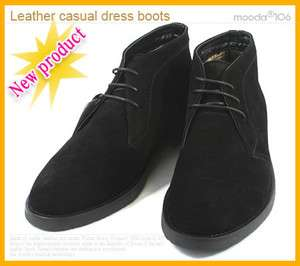 Mens Leather dress shoes casual new fashion boots cs04