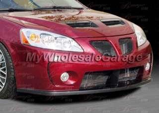 05 08 Pontiac G6 4D Sedan Front Bumper Full Body Kit 06