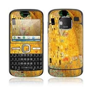 The Kiss Design Decorative Skin Cover Decal Sticker for Nokia E5 Cell