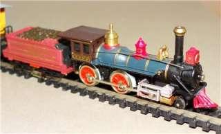 Bachmann N Scale   The American Train Set w/4 4 0 Locomotive/3 cars