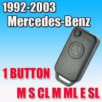 FLIP KEY CASE FOR MERCEDES BENZ REMOTE M S CL M ML E SL