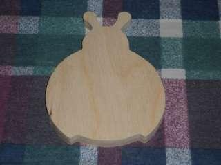 wooden LADYBUG plaque Childrens Shapes Crafts Kids Room Decor