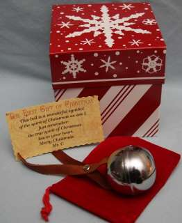 Polar Express Holiday Gift Set Ticket and Bell by SCT