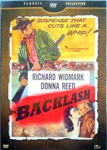 1956] Richard Widmark, Donna Reed, Classic Apache Western DVD