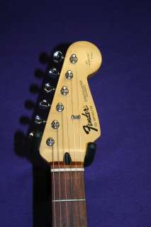 Fender Stratocaster Squier Series Made in Mexico. Black Fender Logo