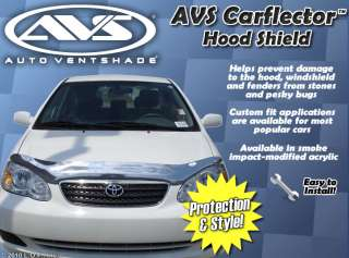 Carflector Bug Deflector Hood Shield Ventshade Guard