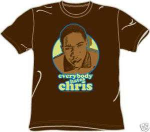 Everybody Hates Chris Graphic Adult Brown Tee T Shirt