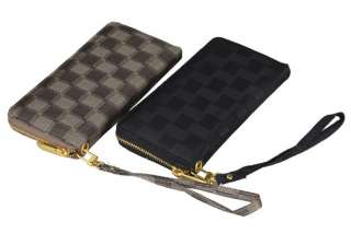 Oxford Wallet Zipper Closures Purse Card Slots Bag Clutch ECB02