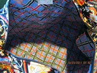 Vera Bradley Large Duffle Duffel Bag Versailles  New