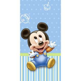 Mickey Mouse First Birthday Party Plastic Table Cover Hallmark Disney