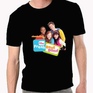 New Fresh Beat Band Black tee T Shirt Size S   3XL