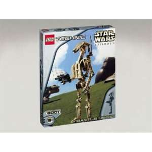 LEGO 8001   Star Wars Battle Droid Technik  Spielzeug