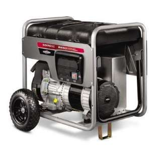 Briggs & Stratton 5,500 Watt Gasoline Powered Portable Generator with