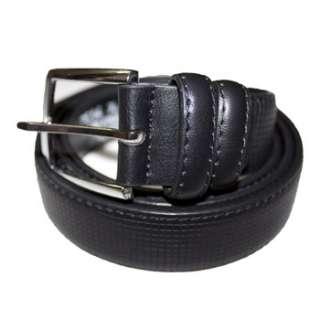 P014 Mens Dress Belt   BLACK   Size X Large (42   44)
