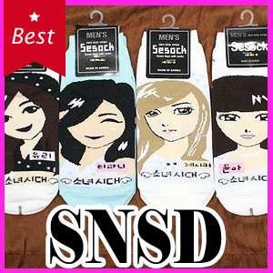 POP Idol Girls Generation SNSD 1 Pair of Socks NEW