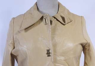 WOMENS VTG CUTE SOFT LEATHER HIPSTER/MOD JACKET sz M