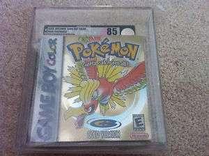 85 NM+ Pokemon Gold Version Brand New Sealed Nintendo Game Boy Color