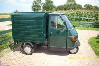 Piaggio Ape 50 Kasten grün,Trike, ähnlich Vespa in Niedersachsen