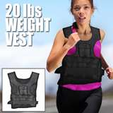 FITNESS TRAINING WEIGHTED VEST MEN EXERCISE ADJUSTABLE 40 POUNDS LB