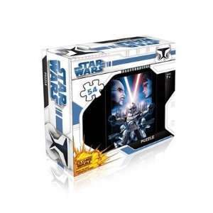 12063   Jumbo Spiele   54 Teile Puzzle   Star Wars   The Clone Wars
