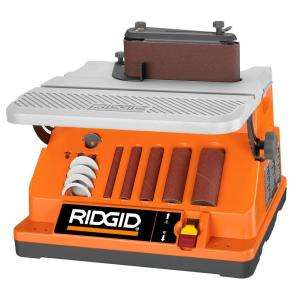 RIDGID Oscillating Edge/Belt Spindle Sander EB4424