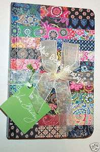 Vera Bradley Unique Limited Edition Journal Of Patterns