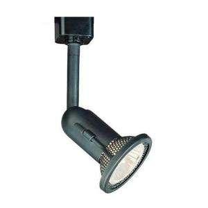 Hampton Bay 1 Light Black Linear Track Lighting Fixture EC6400BK at