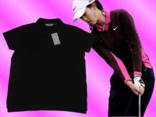 Callaway Womens Golf Shirt Ladies Polo Sm Large Black