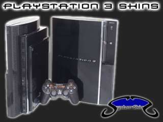 CLEAR Skin for PS3 PLAYSTATION 3 system Skins case mod