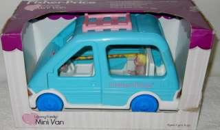 Mini Van Age 3+ Doors & Hatch Open Seat Folds Down 075380046313