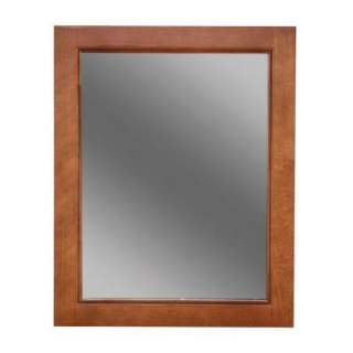 22 in Framed Wall Mirror in Nutmeg CHWM2228COM N
