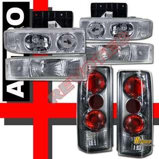 95 05 CHEVY ASTRO VAN HEADLIGHTS & BUMPER SIGNAL LIGHTS & TAIL LIGHTS