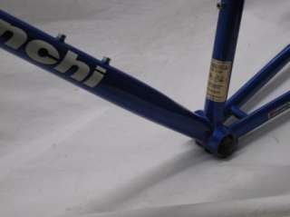 Eros Italian Steel Road Bike Frame Set Reparto Coursa Italy Fork Bar